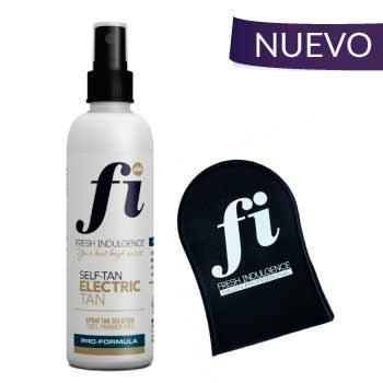 Autobronceador gradual Fi electric tan con guante