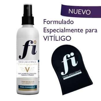Pack autobronceador Vitíligo + guante aplicador